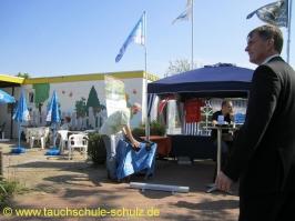 Infostand im Sommerbad Stadensen 2011