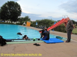 RC Diving Training 03.08.2012
