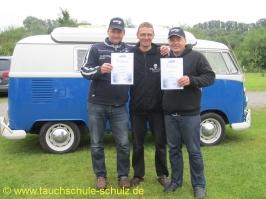 Bernd Adelmann und Jochen Matschulat , IDA CMAS Silber (**), 30.06.2013