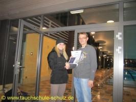 Tanja Pagel, IDA CMAS Grundtauchschein, 07.12.2012