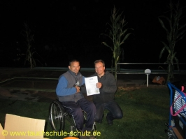 Bernd Adelmann, Spezialkurs Orientieren unter Wasser, 11.08.2012