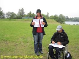 Uschi Henke, Spezialkurse Gruppenführung u. Orientieren, 03.07.2011
