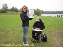 Friederike Sponagel, Spezialkurs Gruppenführung, 03.07.2011